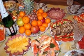 Росстат подсчитал стоимость набора продуктов для новогоднего стола