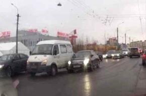 Скорая помощь попала в ДТП на Богатырском проспекте