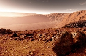 NASA: на Марсе нашли руины огромного города