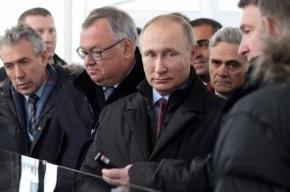 Владимир Путин открыл Центральный участок ЗСД в Санкт-Петербурге