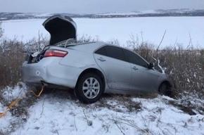 Автомобиль Савченко вылетел с дороги в Одесской области