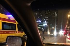 Пешехода сбили на улице Кржижановского