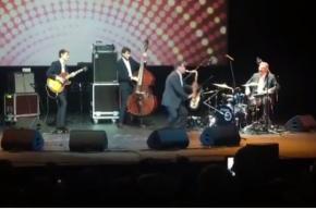 Кудрин сыграл на барабанах в рамках джазового фестиваля