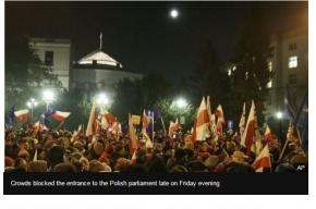 МВД Польши: Оппозиция хотела захватить власть в стране