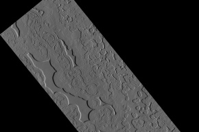 NASA показало снимок самого холодного места на Марсе