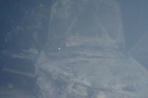 Volkswagen Polo вспыхнул на «Сортавале» после столкновения с «газелью»