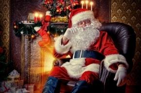Больной мальчик умер в объятиях Санта-Клауса