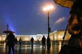 Новый год петербуржцы встретят под дождем