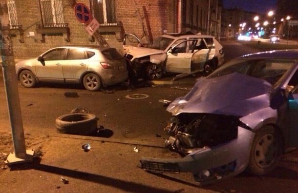 BMW на Маршала Говорова попал в ДТП, скрываясь от полиции, есть погибший