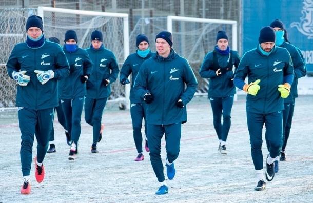 Футболисты «Зенита» ушли наканикулы до9января
