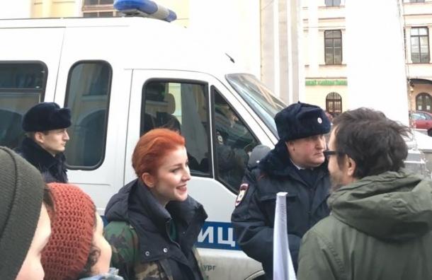 В российской столице задержали актрису за выполнение роли самоубийцы