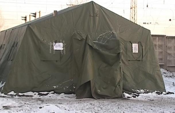 Пунктов обогрева для бездомных в Петербурге не хватит на всех