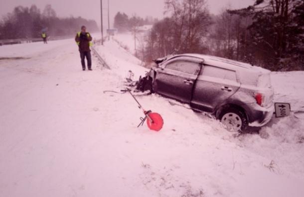 Трое россиян пострадали в ДТП по пути из Таллина в Петербург
