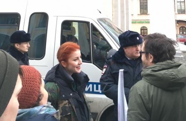 Артистов Театра.doc в Петербурге задержала полиция