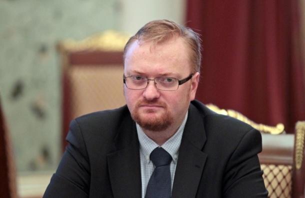 Свой день рождения Виталий Милонов встретил на литургии в церкви