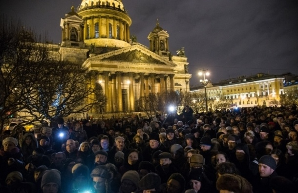Организаторы схода за Исаакиевский собор обратились к петербуржцам