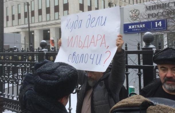 Выступающих в поддержку Дадина активистов задержали в Москве