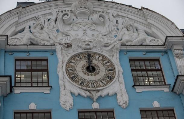 Отремонтированные часы нафасаде Нахимовского училища официально запустили