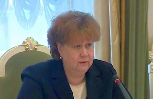 Вице-губернатор Петербурга Казанская рассказала о причинах своего ухода