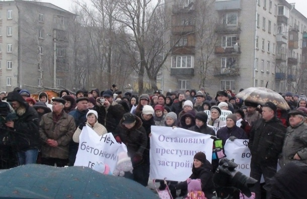Пушкинский район продолжают застраивать без социальной инфраструктуры