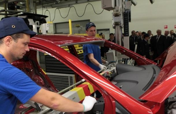 Производство автомобилей в Петербурге упало на 9%