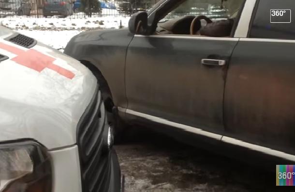 Водитель Porsche перекрыл дорогу скорой на Новочеркасском