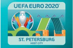 Эмблему Петербурга к Евро-2020 представили в городе