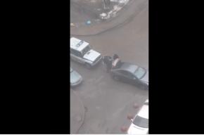 Полицейским «досталось» от пьяного водителя на Богатырском