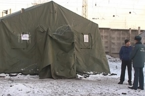 «Ночлежка»: МЧС не ставило палаток для обогрева