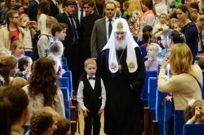 Растрогавший патриарха Кирилла мальчик оказался сыном крупного чиновника