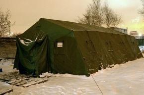 18 пунктов обогрева для бездомных работают в Петербурге