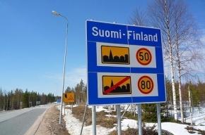 Более 250 машин скопилось на границе с Финляндией