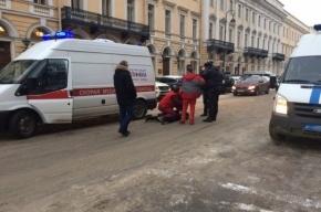 Водитель Mercedes, напавший на скорую, стал фигурантом уголовного дела