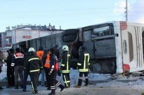 Школьный автобус перевернулся в Турции, есть погибшие
