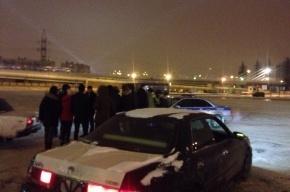 Петербуржец с битой гонялся за стритрейсерами на Пулковском