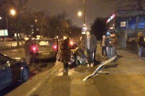 Opel сбил ребенка, вылетев на тротуар улицы Подводника Кузьмина