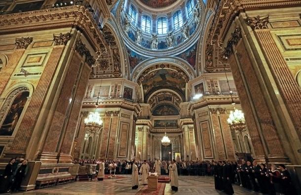 РПЦ обещает отменить плату за вход в Исаакиевский собор