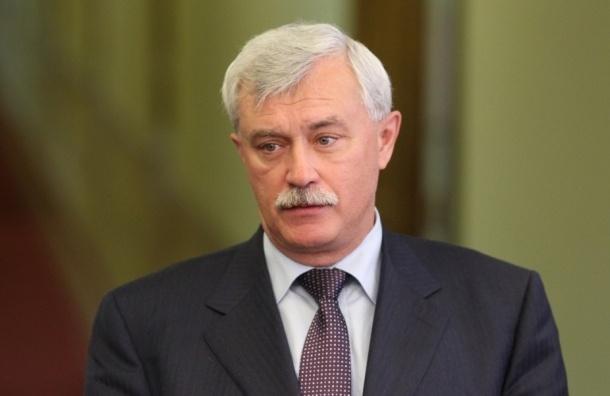 Полтавченко пообещал наказать чиновников за обман с парковкой у Купчино