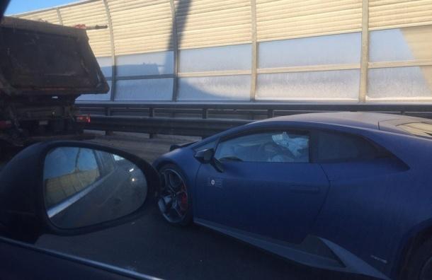 Стали известны подробности ДТП с Lamborghini на ЗСД