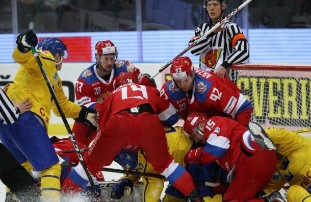Хет-трик 19-летнего Капризова принес России победу над Швецией