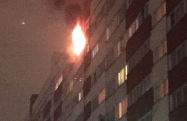 Трешка горела на Авангардной улице