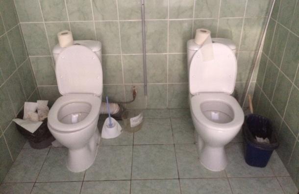«Сочинские» парные унитазы обнаружили на стадионе на Крестовском