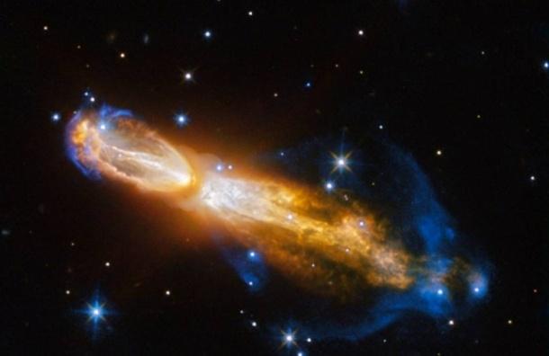 Телескоп Hubble снял смерть звезды