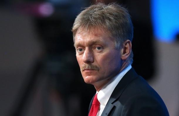 Песков: Мы не отправляем добровольцев в Донбасс
