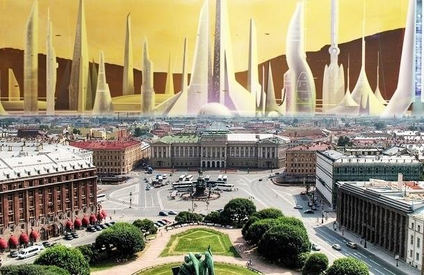Смольный представил три варианта развития Петербурга к 2035 году