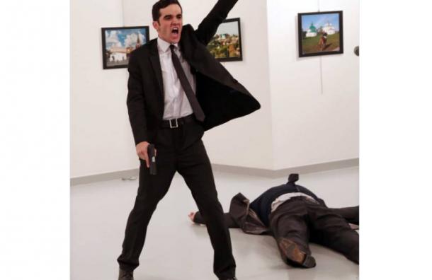 Конкурс World Press Photo выиграл снимок убийства российского посла в Турции