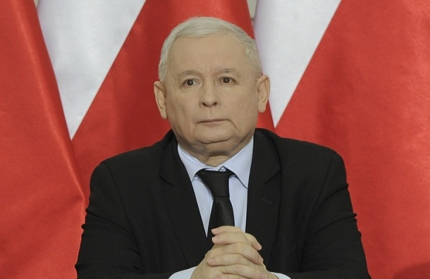 Качиньский: Украине сБандерой нет места вевропейских странах
