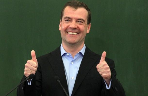 Медведев считает, что Россия справилась с кризисом
