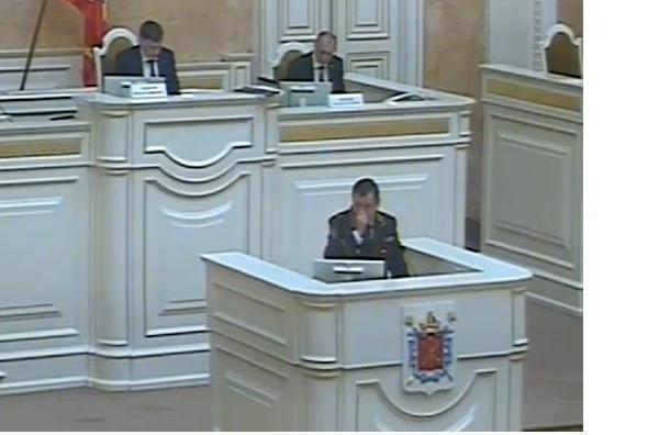 Петербург наименее криминогенный регион России