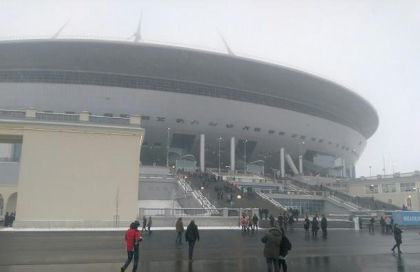 Петербуржцев удивили туалеты и цены в буфете стадиона на Крестовском
